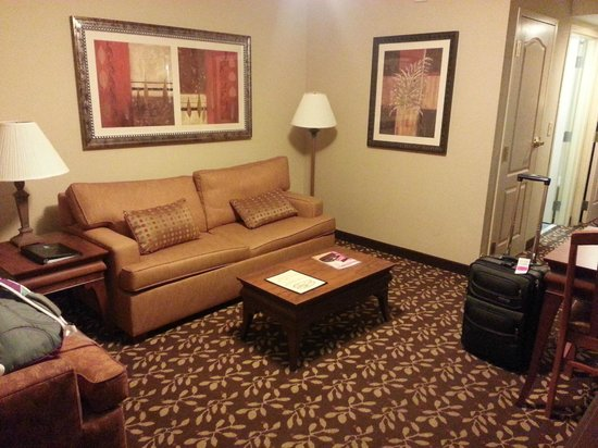 Embassy Suites by Hilton Orlando Airport:                   Sitting area