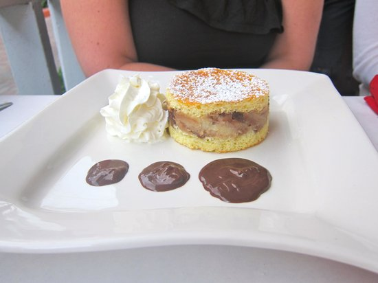 Cappucino's Fine Italian Restaurant:                   Chocolate Chip Shortcake