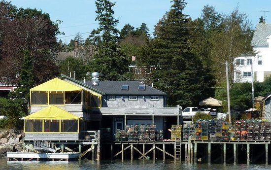 Thurston's Lobster Pound: From our boat