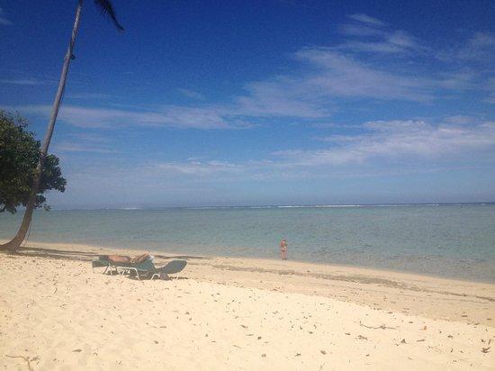 شانجريلاس فيجيان ريزورت آند سبا:                   the beach right in front of the adults only pool                 