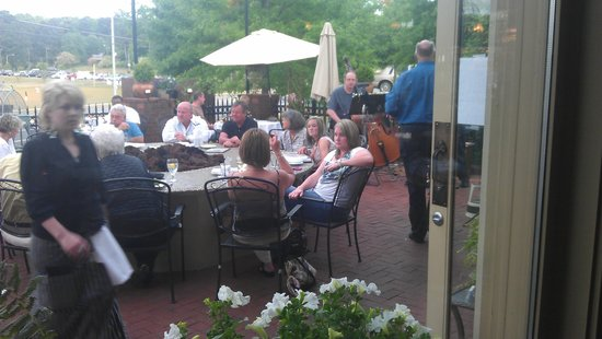Great patio picture of fish thyme acworth tripadvisor for Fish thyme acworth