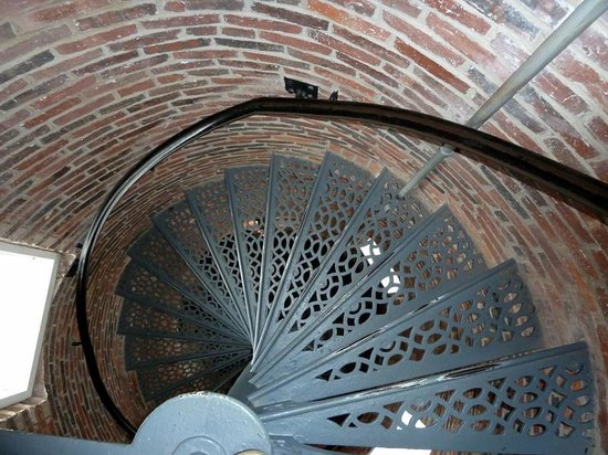 Pemaquid Point Lighthouse:                   Climb the stairs to the top