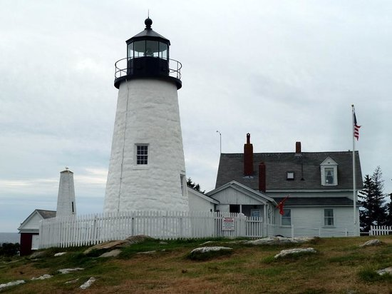 Pemaquid Point Lighthouse:                   View from land