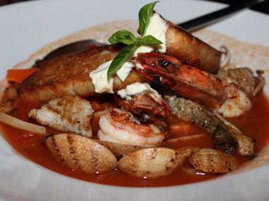 Abaca Restaurant:                   Bouillabaise