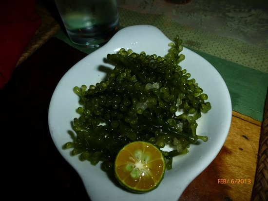 Kalui Restaurant:                   Seaweed