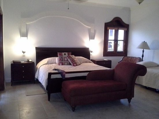 Cap Maison:                   Our Lovely air conditioned Master Bedroom