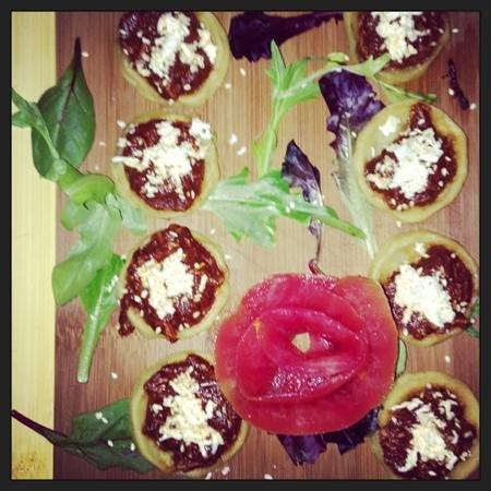 Fridas Grill and Cantina:                   beautiful presentation