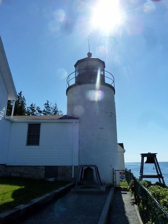 Bass Harbor Head Lighthouse:                   From the easy path