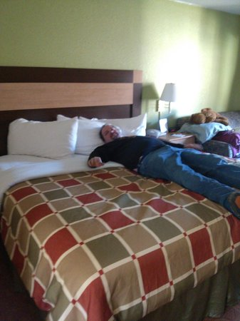 Best Western Mountainbrook Inn:                   Comfy king size bed.