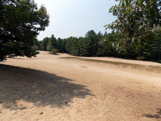 Desert of Maine:                   This is the desert