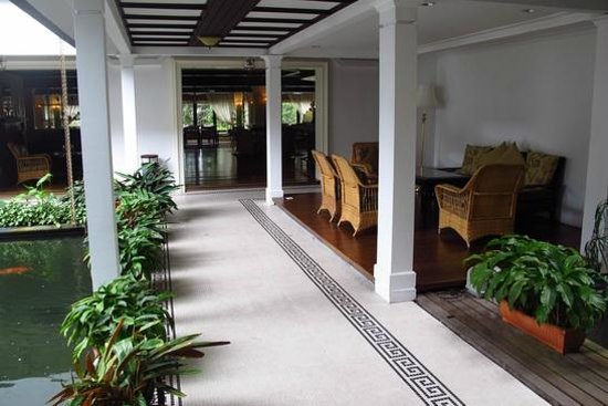 Cameron Highlands Resort: delightful layout of the hotel, with nice cosy corners