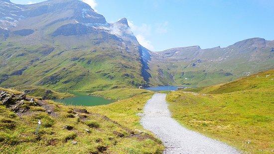 Grindelwald, Switzerland:                   scene at the lake