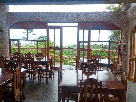 Castillo de Pavones :                                                       Restaurant first floor