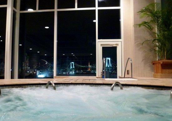 Hilton Tokyo Odaiba:                   「スパ然」からの眺め