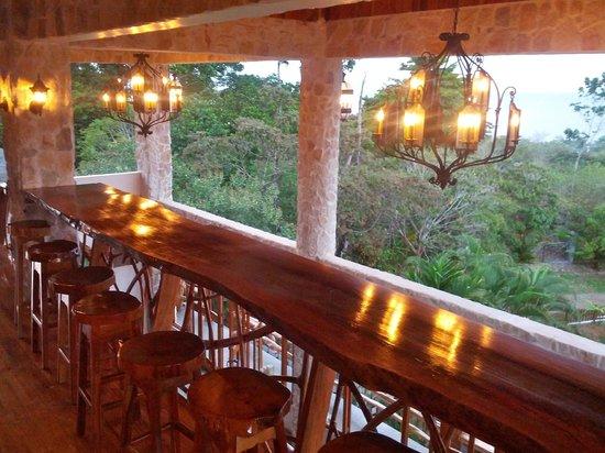 Castillo de Pavones:                                                       second floor of restaurant               
