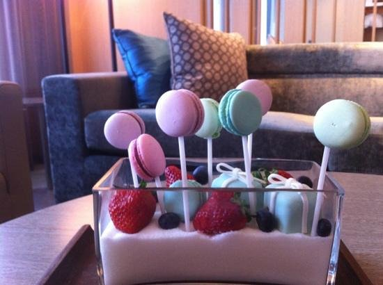 Conrad Seoul: fantastic touch for welcome