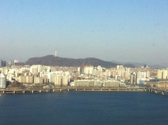 Conrad Seoul: view from suite 3016: breathtaking