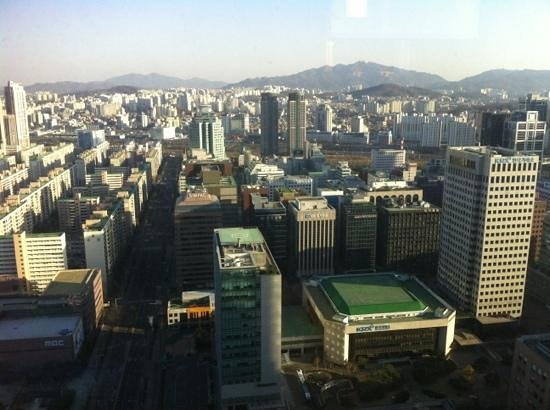 Conrad Seoul: an other view from our suite