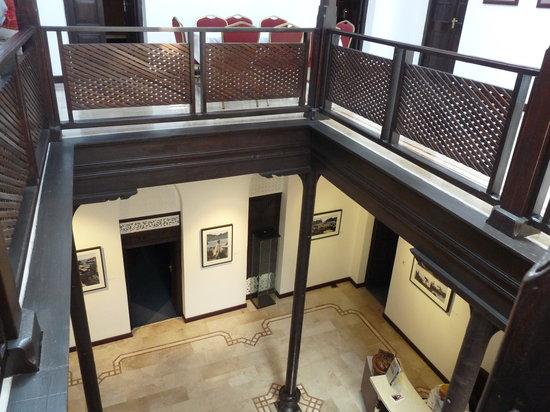 Bait Al-Baranda:                   Inside first floor