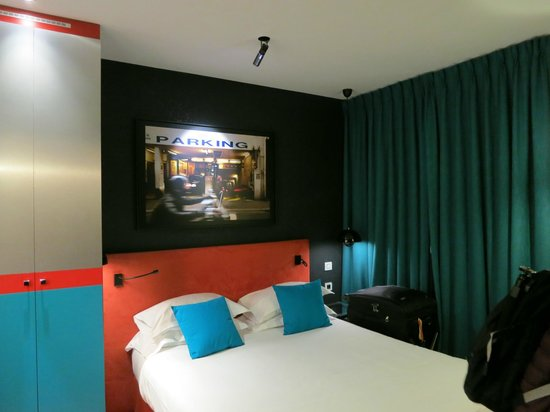 Hotel Atmospheres:                   View of room