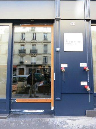 Hotel Atmospheres:                   Front door of Hotel
