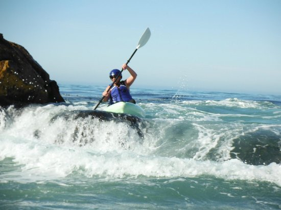 Avila Beach Paddlesports:                   Not as hard as it looks!