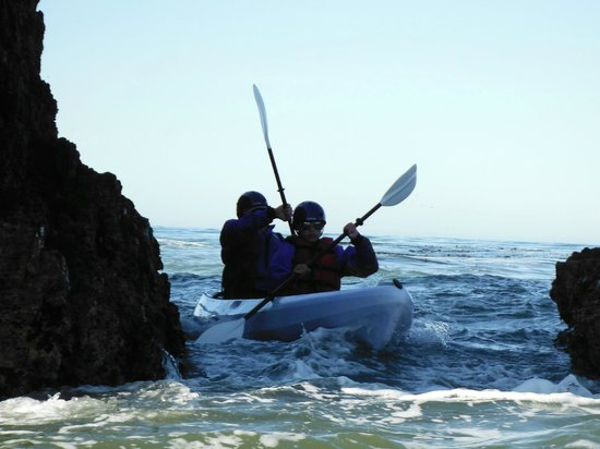 Avila Beach Paddlesports:                   Great tor the adventurous young ones - better then video games!