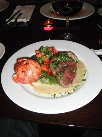 The Barn by Odin :                   Venison and Lobster