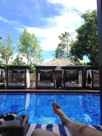 Conrad Bali:                   Conrad Suites Pool