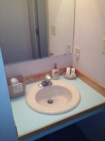 Motel Nord Haven:                   sink area