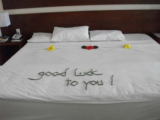 Vinh Hung Riverside Resort:                   Loved the messages