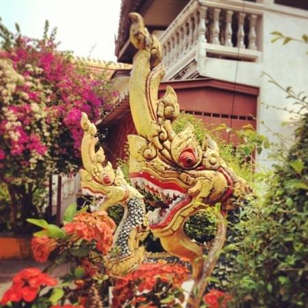 Wat Si Saket:                   lovely colours