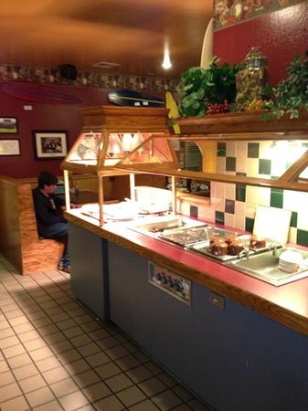 Captain Tony's Pizza & Pasta Emporium:                   buffet at Captain Tony's