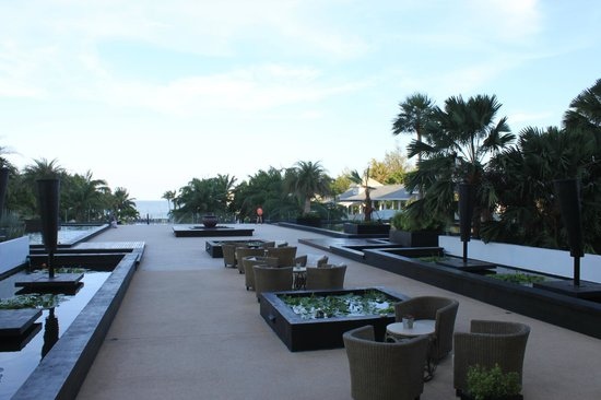 Novotel Hua Hin Cha Am Beach Resort and Spa:                   view from the lobby