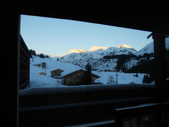 Gasthof & Hotel Rote Wand:                   morgensonne