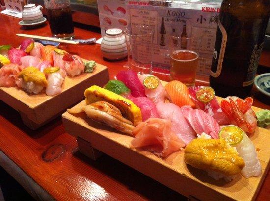 Koiso Sushi Bar :                   OMAKASE 4 2