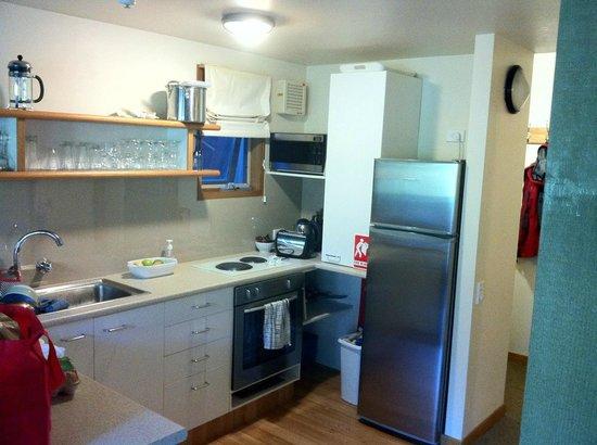 Riverside Cabins:                   Kitchen