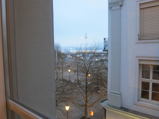 Hotel Helmhaus:                   A view from the room