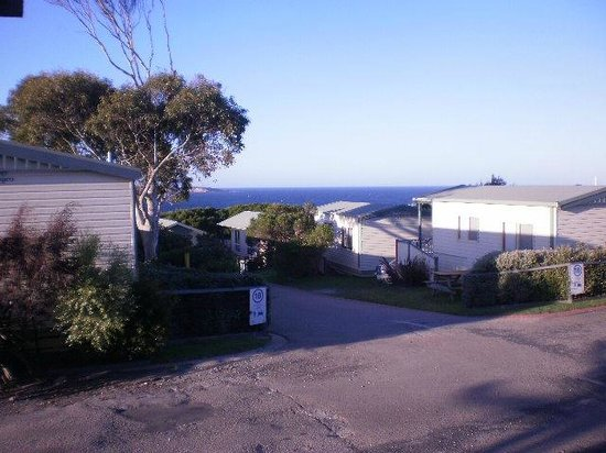 NRMA Merimbula Beach Resort and Holiday Park:                   OCEAN VIEWS