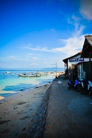 Nusa Lembongan, Indonesia:                   The Dock