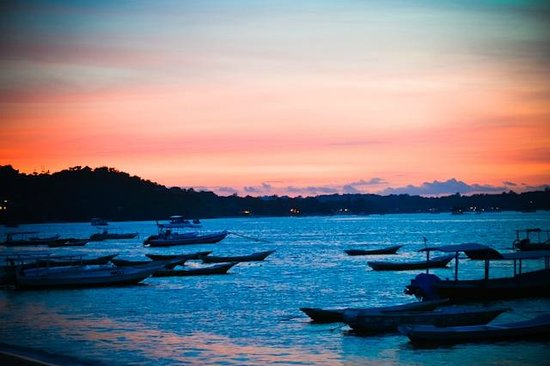 Nusa Lembongan, Indonesia:                   The Bay