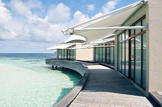 W Maldives:                   spa