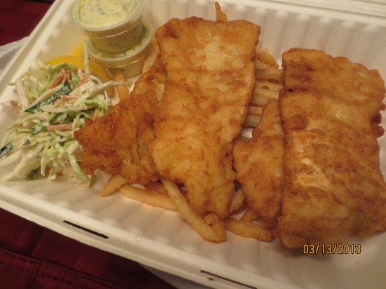 Close Harbour Seafood:                   Fried haddock
