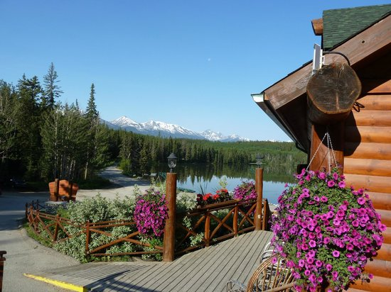 Pyramid Lake Resort:                   Blick auf den Pyramid Lake