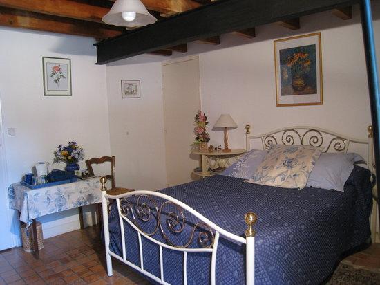 Chambres d'hotes du Moulin de Bel Air : La chambre Bleuets