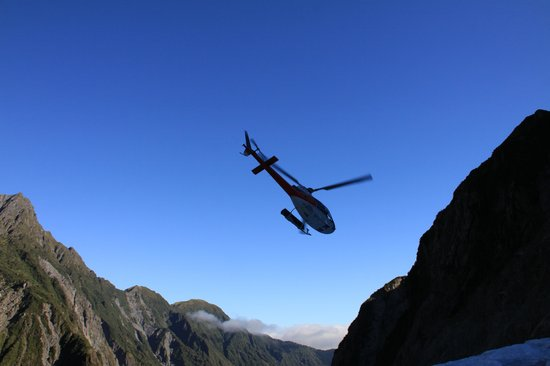 The Helicopter Line West Coast:                   Heli Hiking Franz Josef Glacier NZ