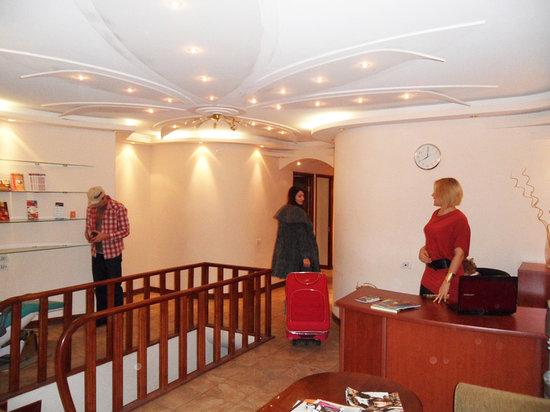 DownTown Hostel: reception