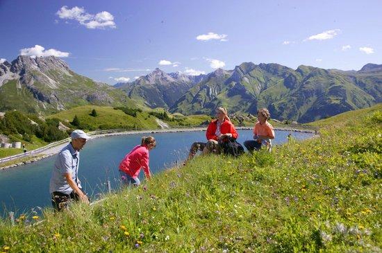 Burg Hotel: Wandern in den Bergen des Arlbergs