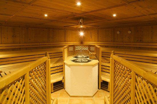 Burg Hotel: Finnische Sauna