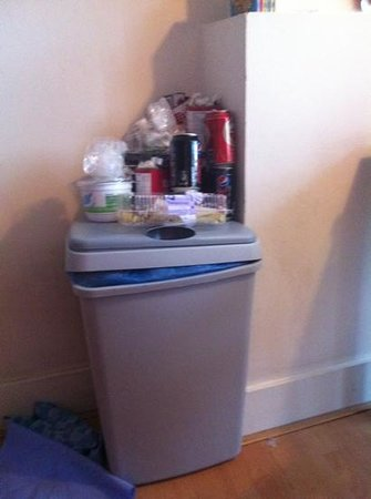 La Bergere Apartments:                                     don't expect your bins to be emptied more than once a week,